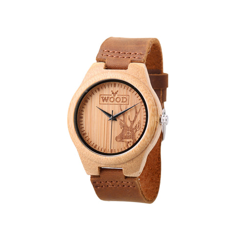 The Artist Ivory // Wooden Watch