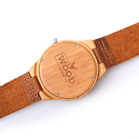 Real Wood Watch