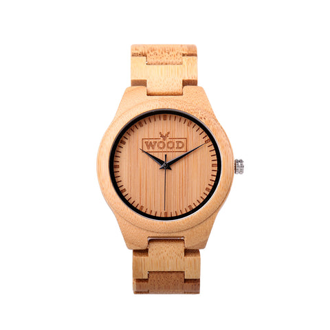 Buy the Idealist Ivory Wooden Watch