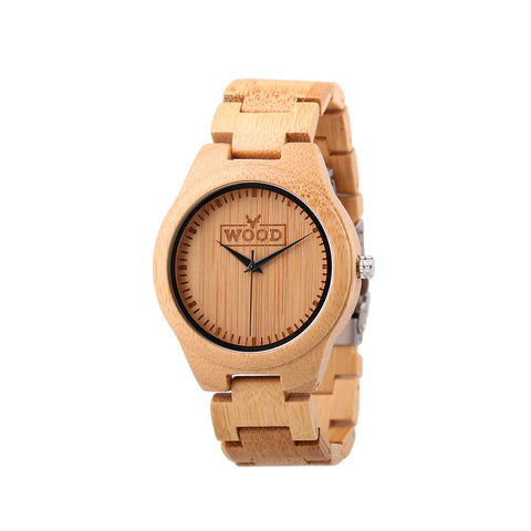 The Idealist Ivory // All Wooden Watch