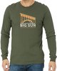 Big Sur Marathon Men's Long Sleeve Crew, Military Green - BSIM Store