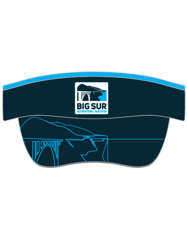 Big Sur International Marathon Unisex Visor - BSIM Store