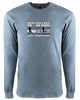 Monterey Bay Half Marathon Long Sleeve Crew, Blue/Grey - BSIM Store