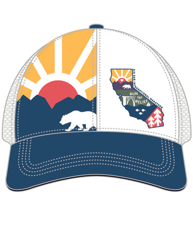 Big Sur International Marathon Run for Relief Technical Trucker - BSIM Store