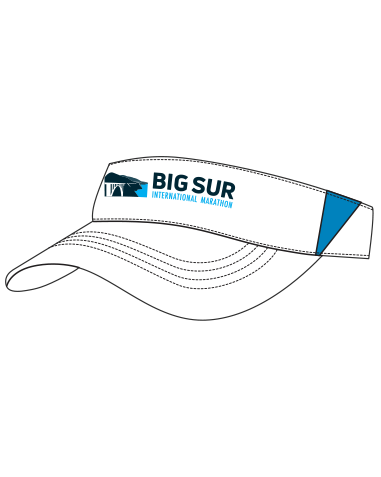 Big Sur Marathon Performance Running Visor - BSIM Store