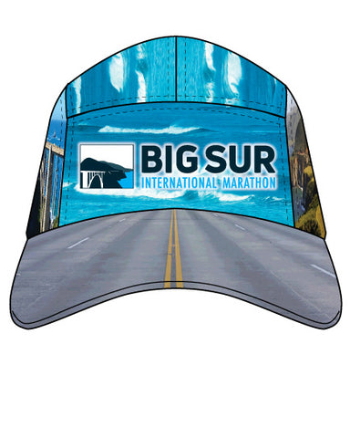 BSIM Unisex Sublimated Runner's Cap