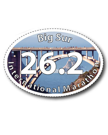 Big Sur International Marathon Magnet