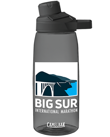 Big Sur International Marathon logo CamelBak, Chute® Mag 32oz (1L) Water Bottle - BSIM Store