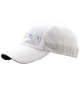 Just Run! Runner's Cap, White - BSIM Store