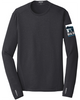 Big Sur Marathon Men's Endurance Pulse Long Sleeve Crew, Black - BSIM Store