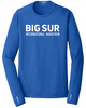 Big Sur Marathon Men's Endurance Pulse Long Sleeve Crew, Blue - BSIM Store