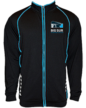 Big Sur Marathon Women's Viva Jacket, Black - BSIM Store