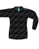Big Sur Marathon Women's Hypersoft V-Neck Long Sleeve, Black Illusion - BSIM Store