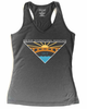 Big Sur International Marathon Women's Sport Tank, Heather Black - BSIM Store