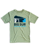 Big Sur International Marathon Classic Unisex Short Sleeve Tee, Heather Green - BSIM Store