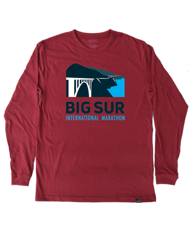 Big Sur International Marathon Classic Unisex Long Sleeve Tee, Phoenix - BSIM Store