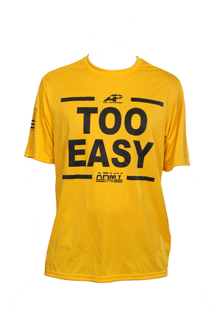 TOO EASY PERFORMANCE SHIRT GOLD