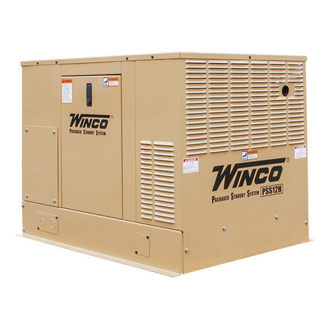 WINCO Home Standby Generator - Air-Cooled w/ Honda Engine  Model # PSS12H2W - Power Source Pro - 1