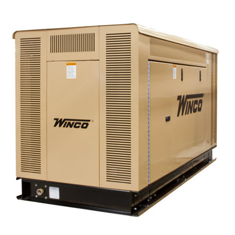 WINCO Emergency Standby Generator  Liquid-Cooled Model# PSS40 - Power Source Pro - 1