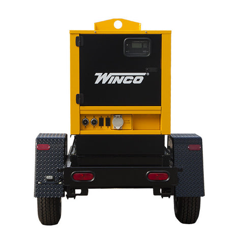WINCO Mobile Diesel Generator Model# RP25 - Power Source Pro - 1