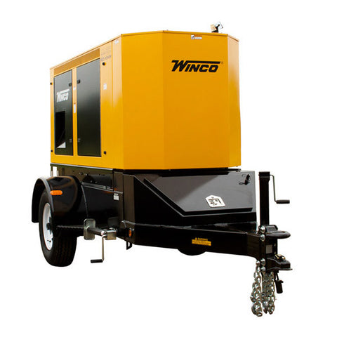 WINCO Mobile Diesel Generator Model# RP55 - Power Source Pro - 1
