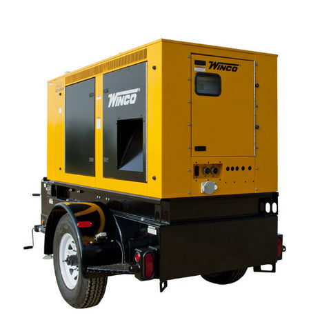 WINCO Mobile Diesel Generator Model# RP80 - Power Source Pro - 1