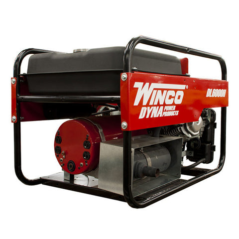 Winco Dyna Portable Generator — 5500 Rated Watt, Honda Engine, Model# DL6000H - Power Source Pro - 1