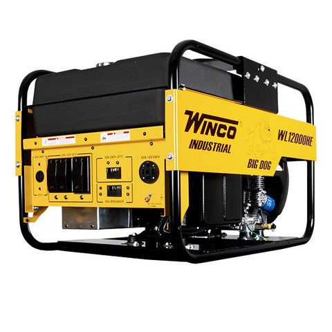WINCO Portable Generator Honda Engine WL12000HE Power Source Pro