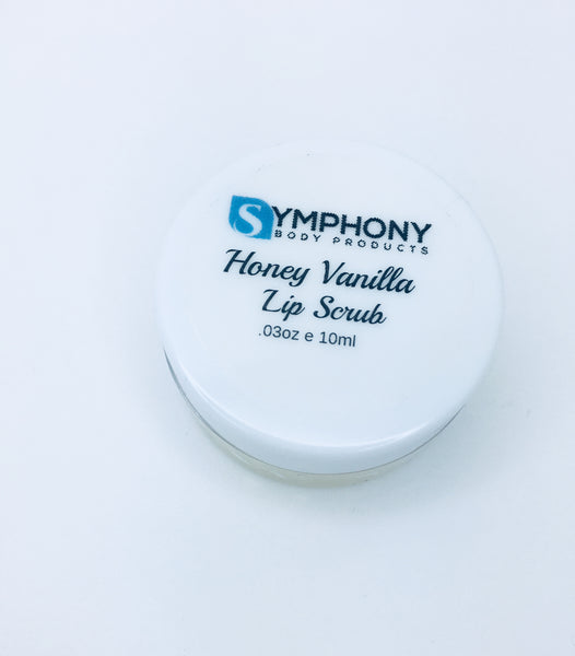 Honey Vanilla Lip Scrub - Symphony Body Products