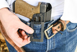 Glock 19 Insider Contender No Belt CCW for sweat pants and athletic wear.