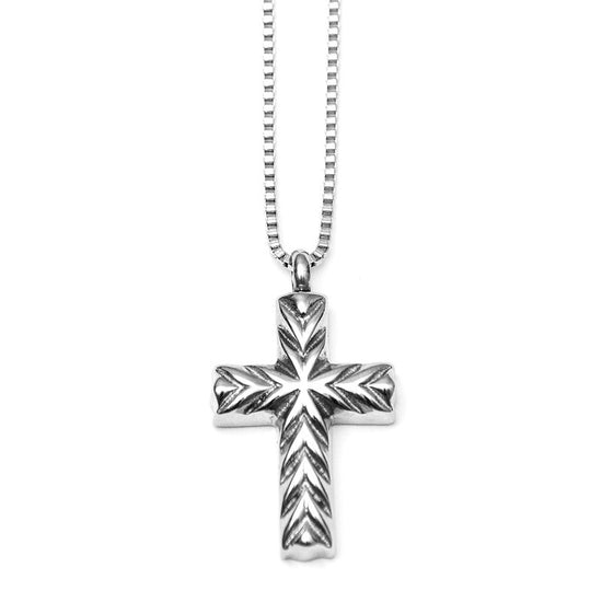 Pet memorial jewelry cross with cremation urn and funnel rolling t memorial cross necklace solutioingenieria Choice Image