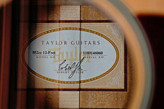 Taylor 552ce Grand Concert 12-fret 12-string