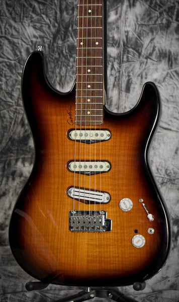 Used Godin Progression Vintage Burst Guitar