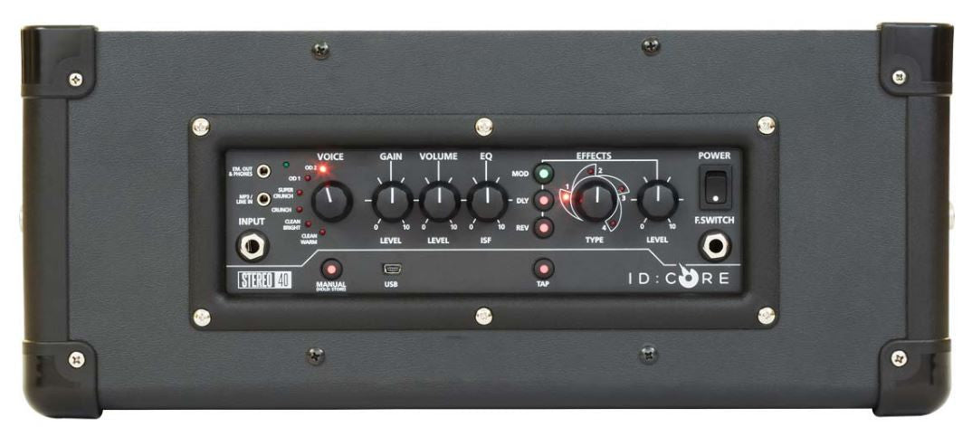 Blackstar ID Core 40 Amp Buttons