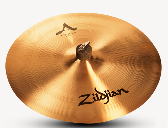 "Zildjian 16"" A Thin Crash Cymbal"