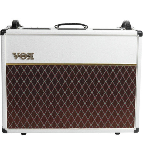 "Vox AC30C2 Limited White Bronco 30W 2x12"" Tube Guitar Combo"