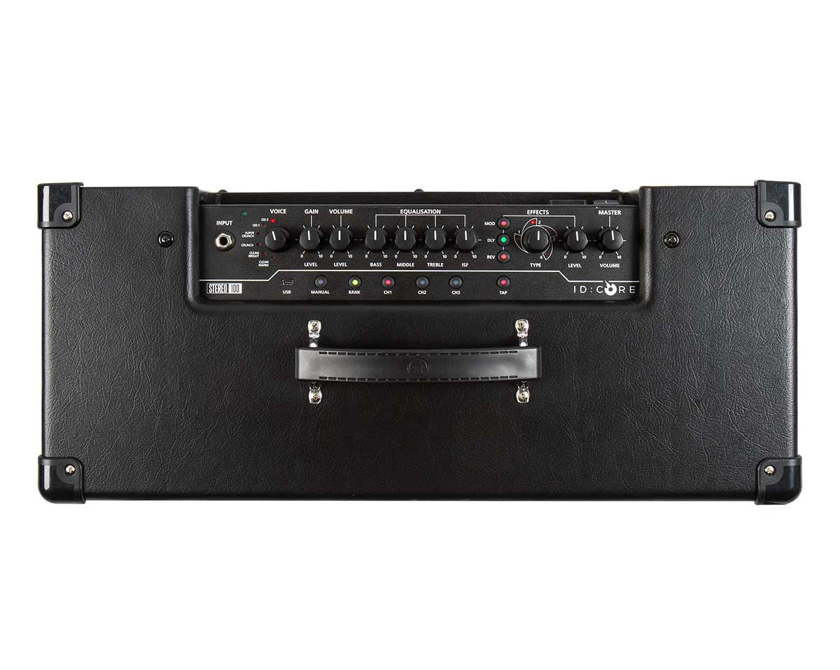 Blackstar ID: Core Stereo 100 Amp buttons