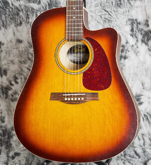 Seagull Entourage Rustic QIT Solid Top Acoustic Guitar