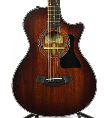 Taylor 322ce 12-Fret Medium Brown Stain/Shaded Edge Acoustic/Electric Guitar