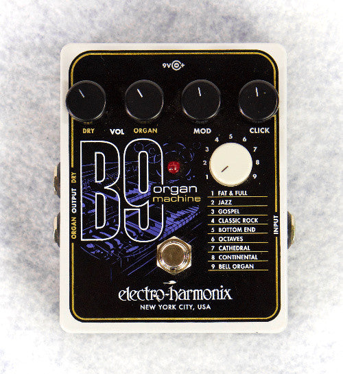 (Used) Electro-Harmonix B9 Organ Machine Guitar Pedal