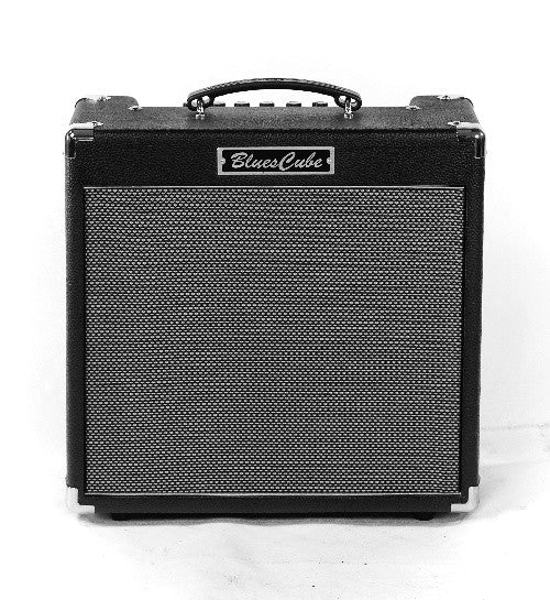 Open-Box Roland Blues Cube Hot 30W 1x12 Combo Guitar Amp