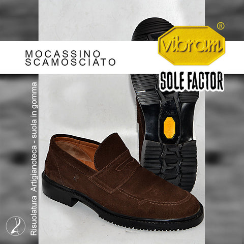Risuolatura Mocassini - Vibram® Sole Factor