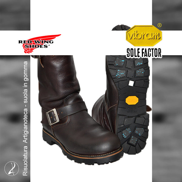 Risuolatura Red Wing - Vibram® Sole Factor