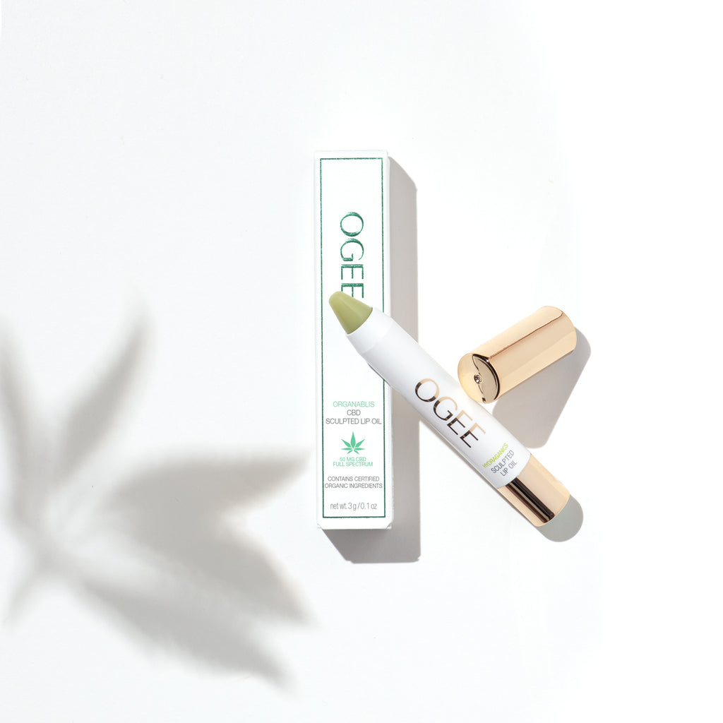 CBD Sculpted Lip Oil