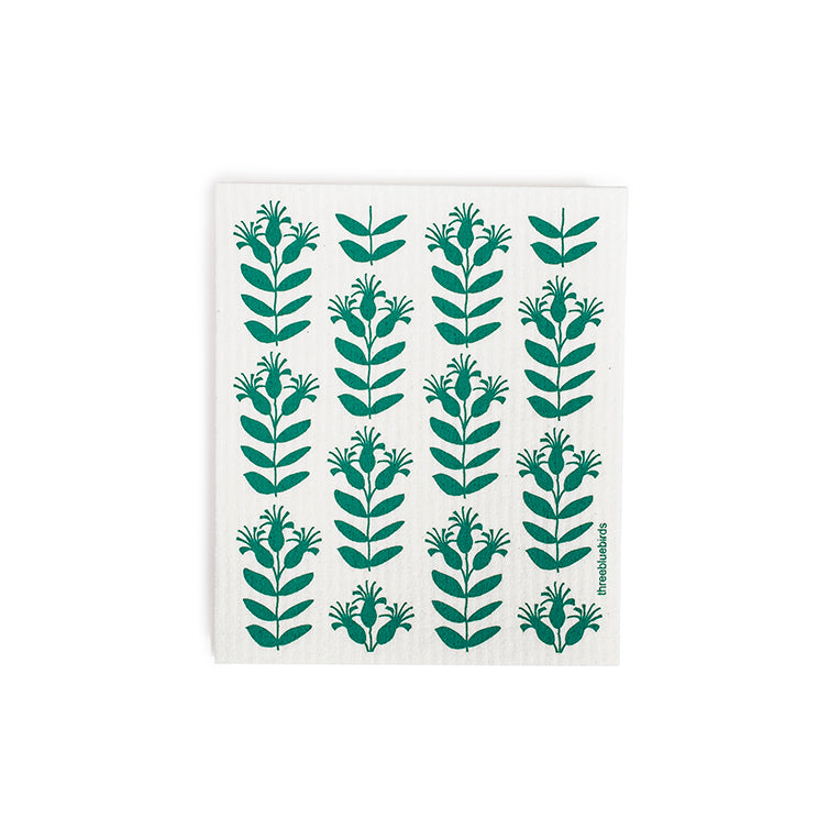 Spruce Tips Swedish Dishcloth
