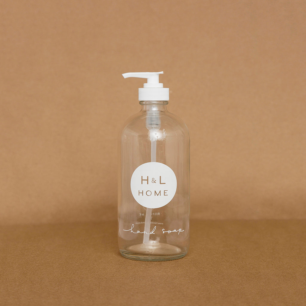 Refillable Hand Soap Bottle