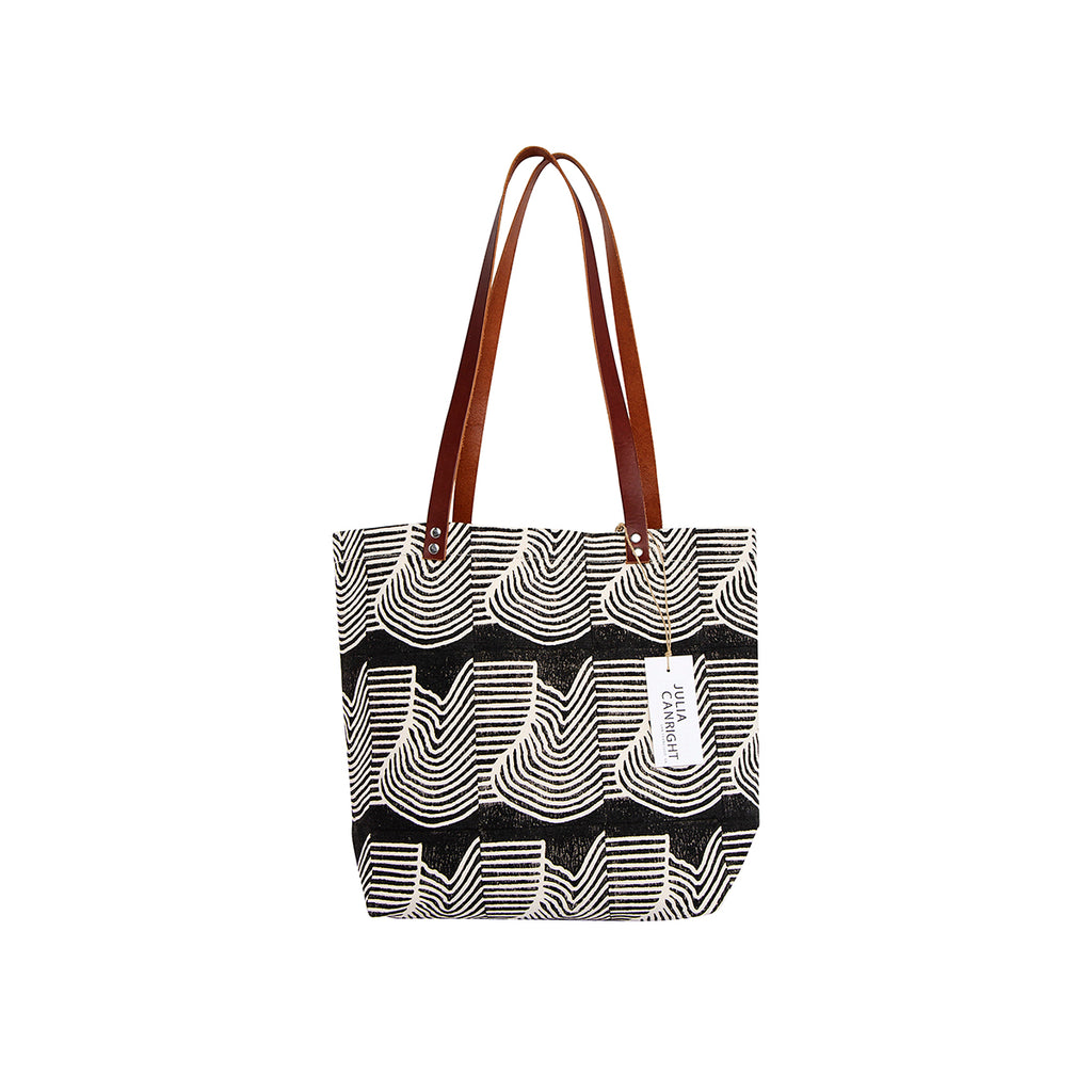 Flood Block Print Tote