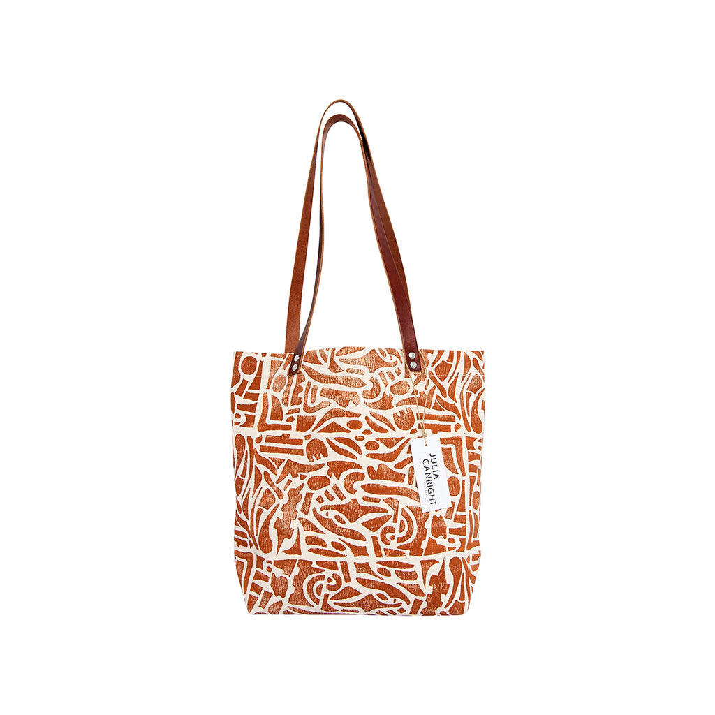 Little Shapes Print Tote