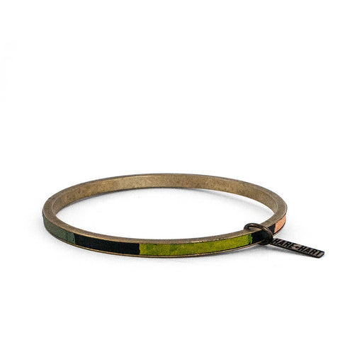 """STRONGER TOGETHER"" ZERO WASTE BANGLE - EQUALITY"