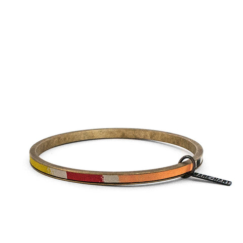 """STRONGER TOGETHER"" ZERO WASTE BANGLE - LOVE"